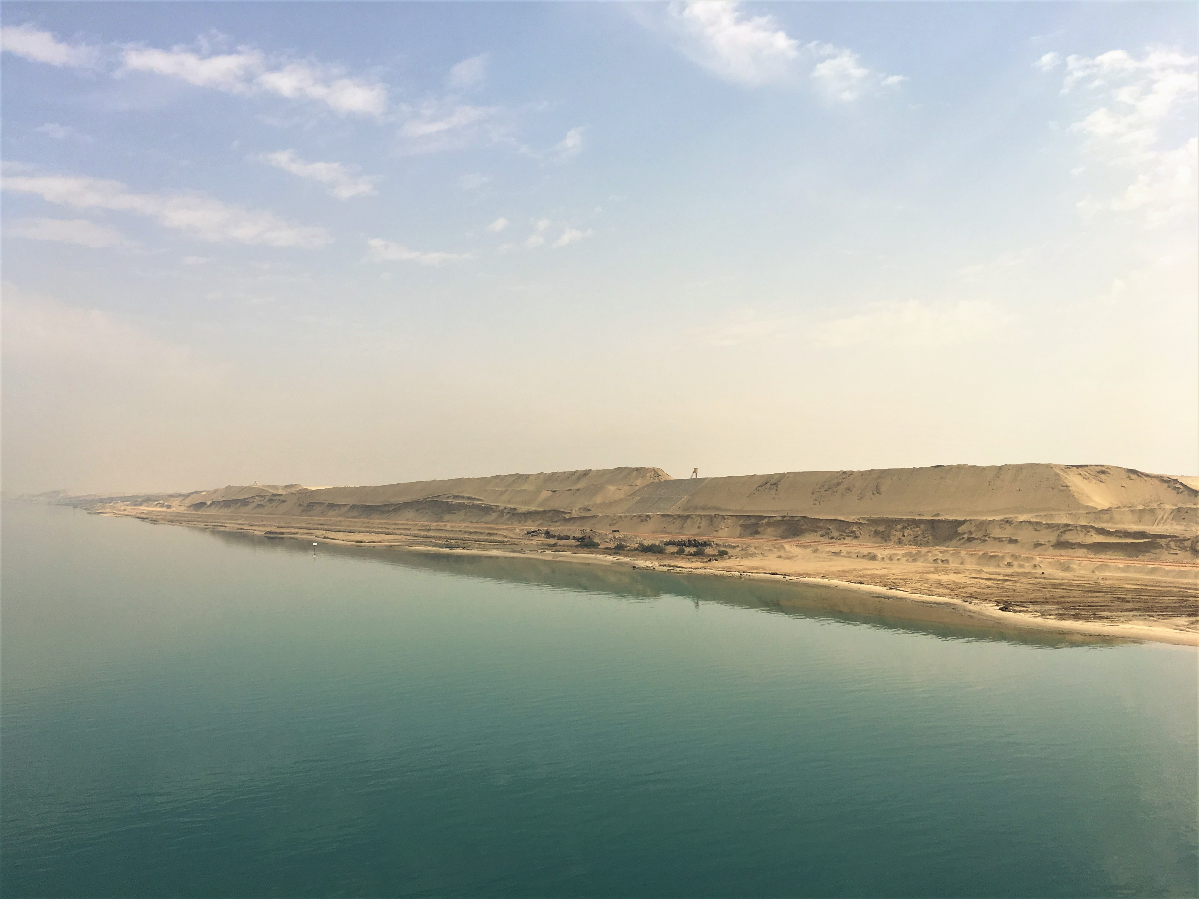 Sailing through the Suez Canal - Lucy Williams Global