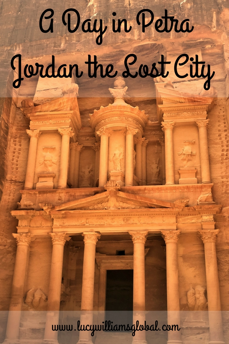 A Day in Petra Jordan the Lost City - Lucy Williams Global