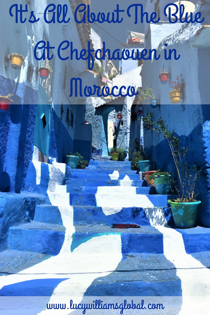 It's All About the Blue at Chefchaouen in Morocco - Lucy Williams Global