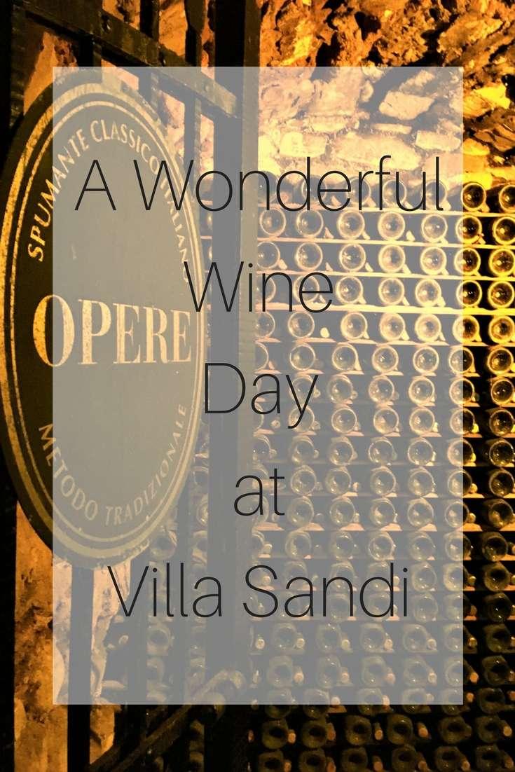 A Wonderful Wine Day at Villa Sandi