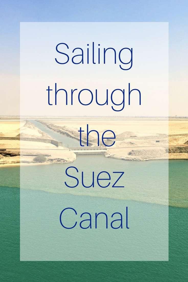 Sailing through the Suez Canal (1)