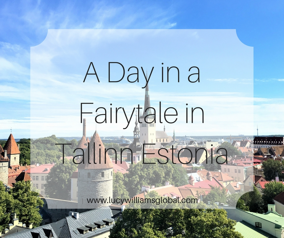 A Day in a Fairytale in Tallinn Estonia