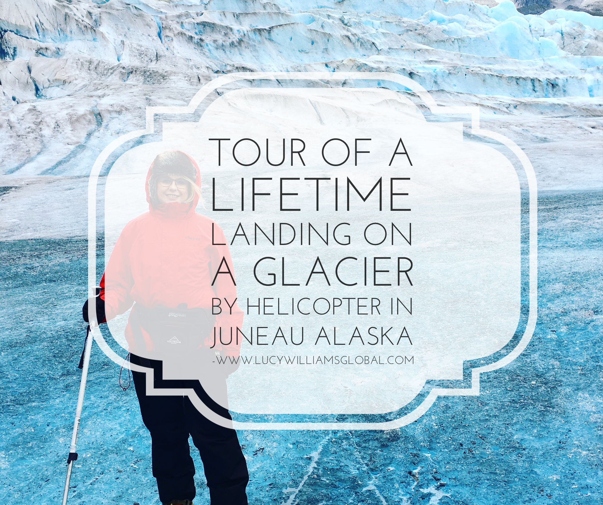 tour of a lifetime landing on a glacier by helicopter in Juneau Alaska
