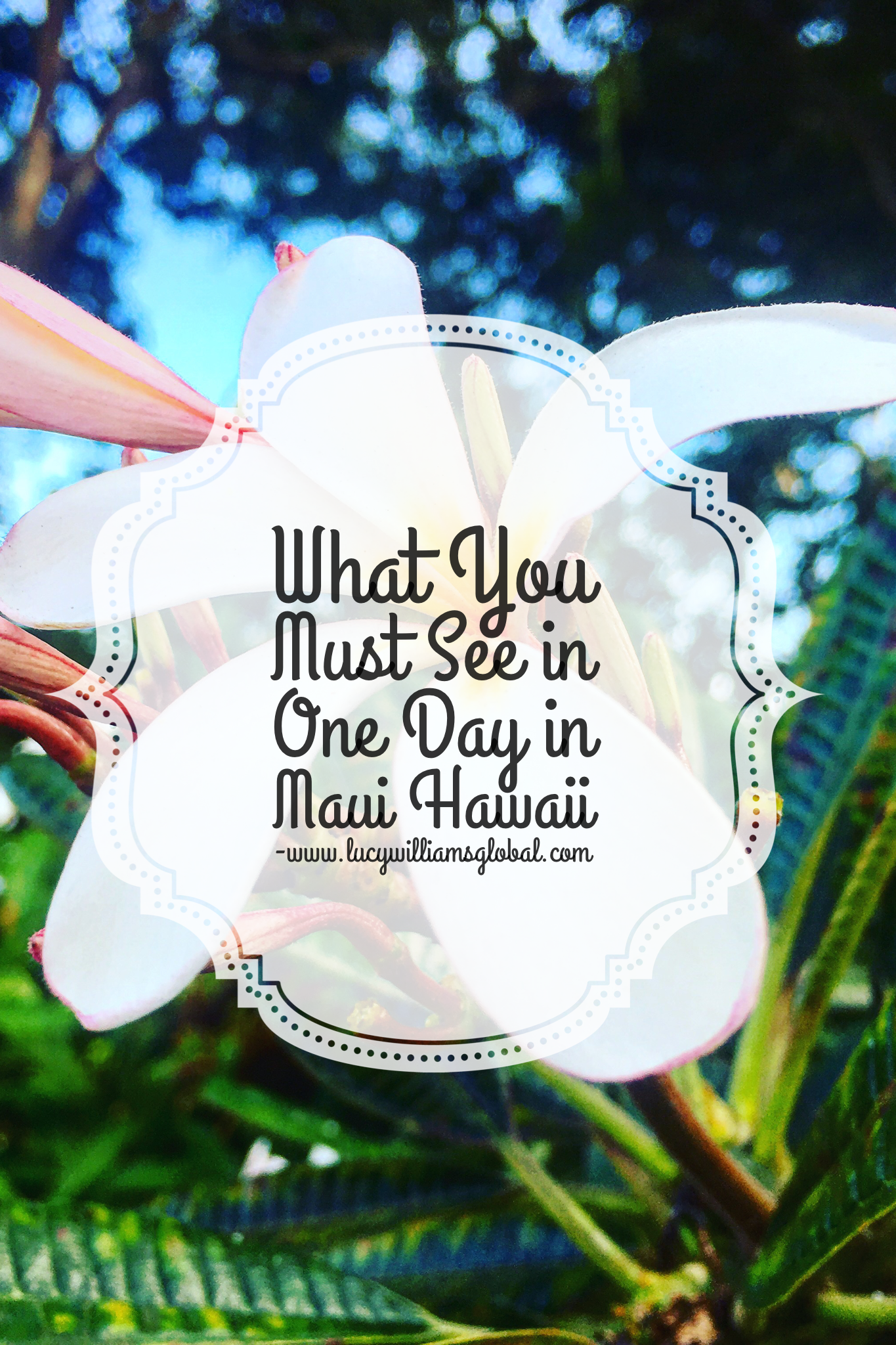 What You Must See in One Day in Maui Hawaii