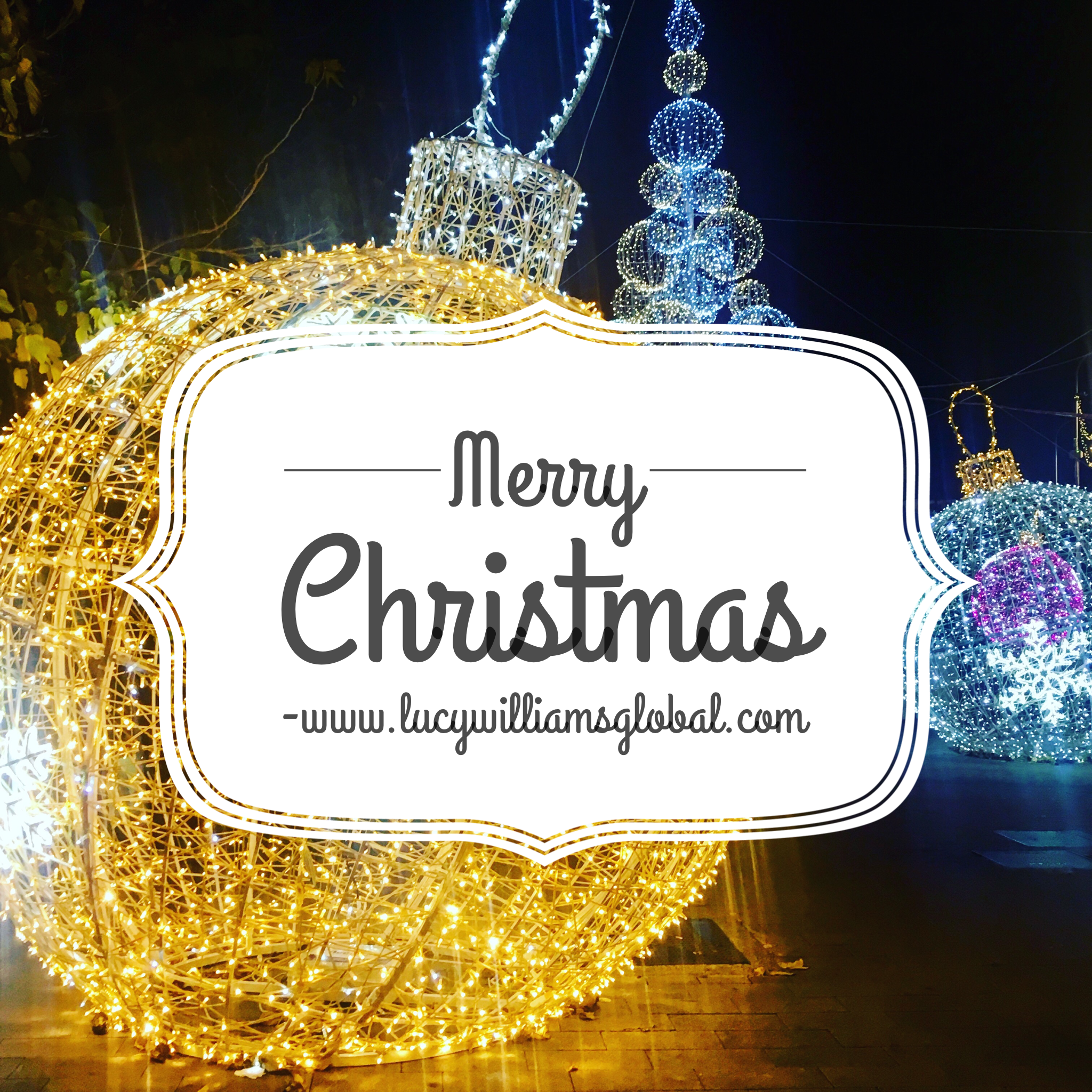 Merry Christmas - Lucy WIlliams Global