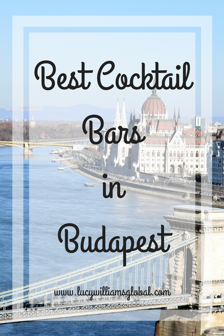 Best Cocktail Bars in Budapest